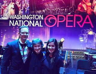David, Lora and Ashley. 2017 Opera Gala