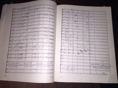 The score to Scene 2 of Das Rheingold