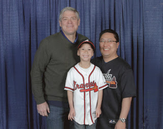 Meeting Dale Murphy, Atlanta Braves Legend