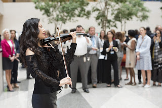 Performing for the IMF Annual Meetings