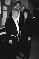 Mo. Fricke with Lora Ferguson (right)