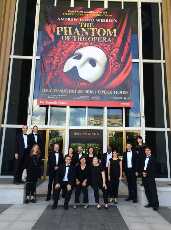 KCOHO musicians performed Phantom of the Opera in 2016