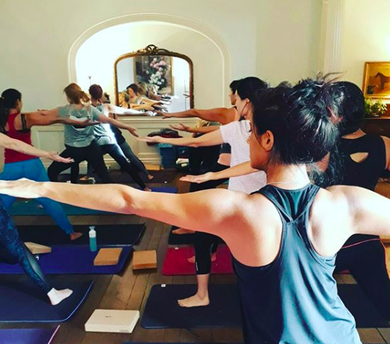 POUNDON HOUSE - WEEKEND FOR BALANCE WITH YOGA AND AYURVEDA AS WE SHIFT TOWARDS AUTUMN