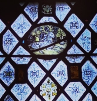 In the church, in the village where I grew up, is this Hart in stained glass. It looks out towards the centre of the village. It is high up so is easily missed. #cambridge #beauty #ancientart #englishchurches
