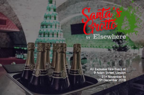 2018 Brochure | Santa's Grotto by Elsewhere at Nine Adam Street,London