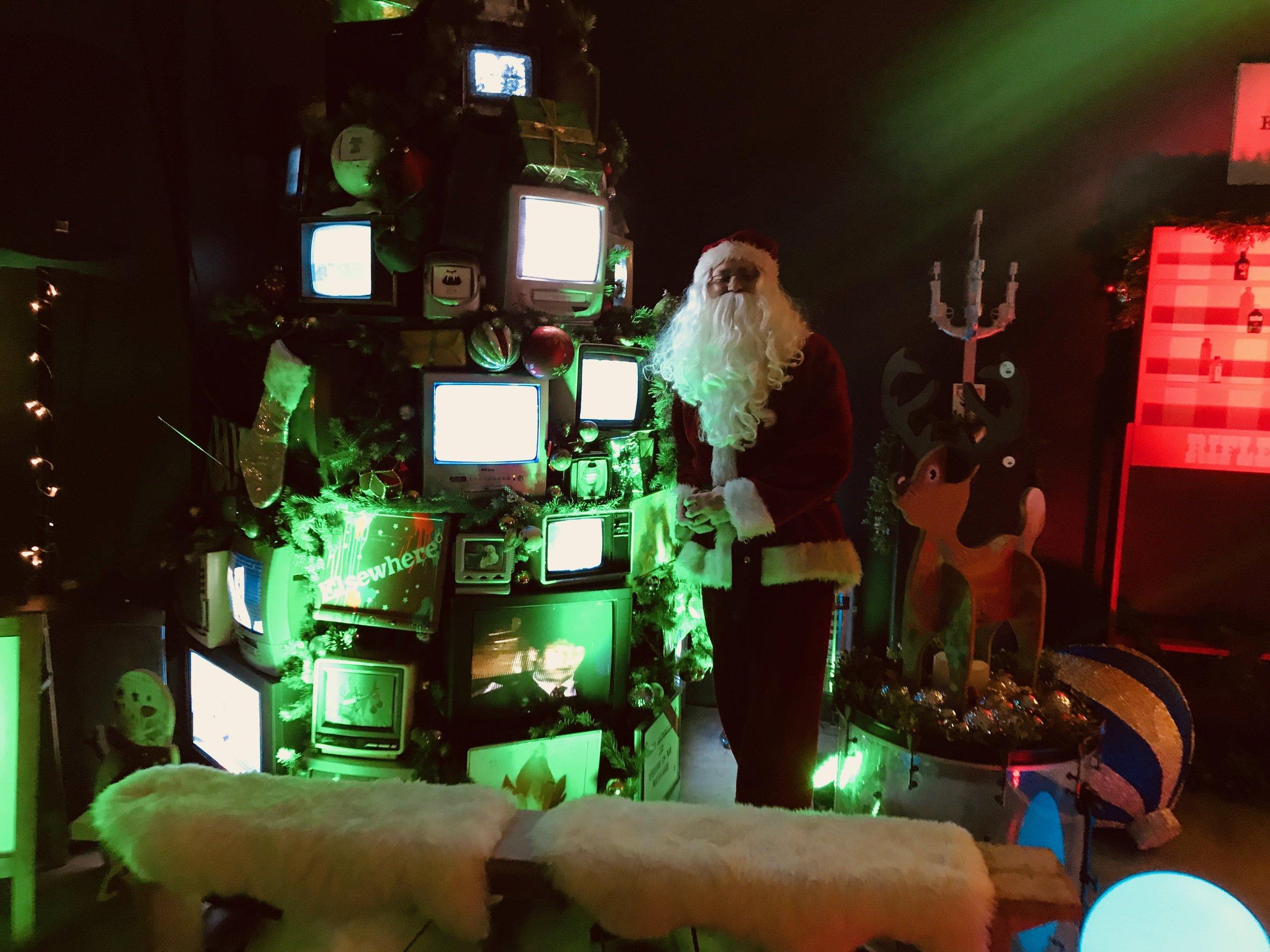 Last years TV Christmas tree
