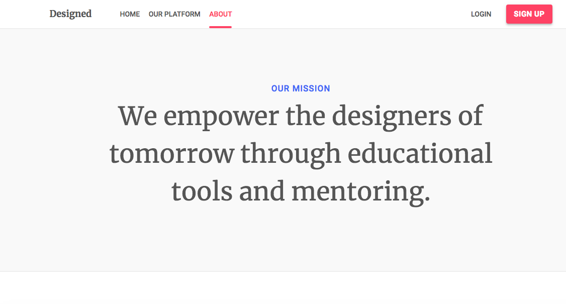 Photos: Designed.org