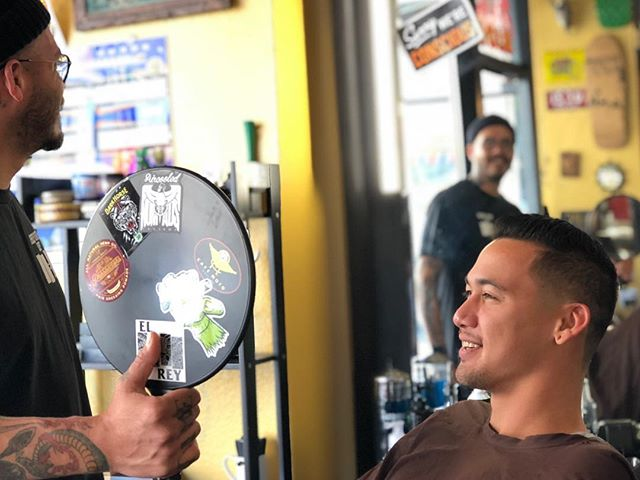 Shake off that holiday hangover, we have availability all day with all three barbers come by and get right 👍🏽