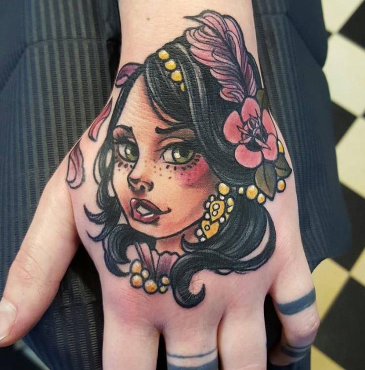 Rafaela - To Die For TattooDeutschlandDüsseldorf