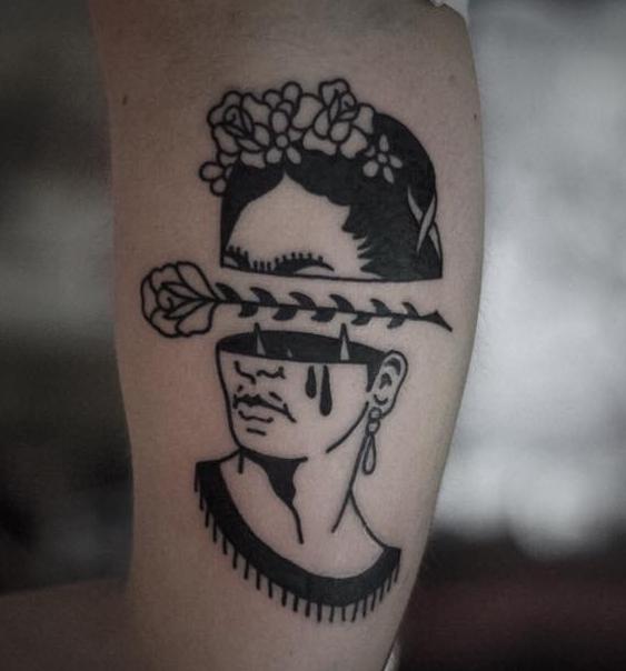 Rodrigo Botero - Cross My Heart TattooDeutschlandBonn