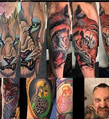 Stefan Schumitz,Hardcore I. - Good Old Luck TattooDeutschlandKassel