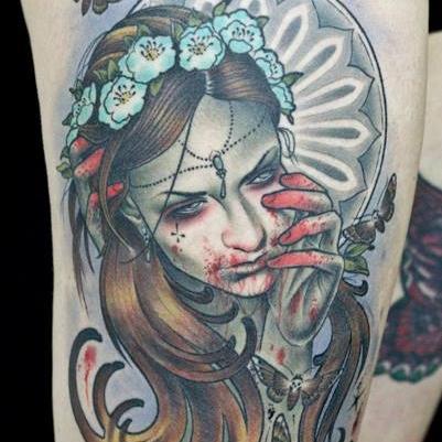 Walde scum-art - Lucky Six Tattoo BerlinDeutschlandBerlin