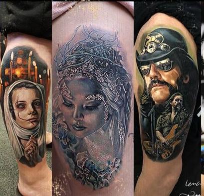 Lena Art - Tattoo Art KalsruheDeutschlandKarlsruhe