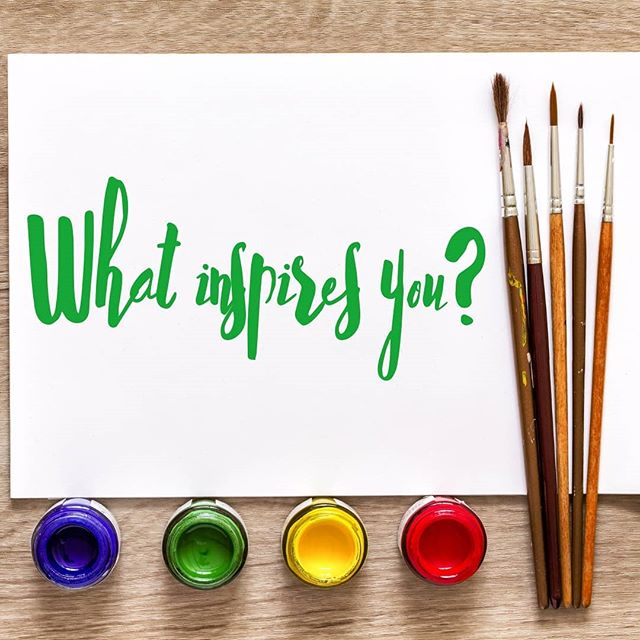Where does your inspiration come from? Let us know. Nothing is too small or too silly! #ugcoach #tampaunderground