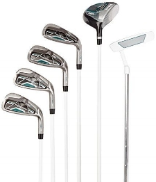 Wilson Prostaff women's half set golf clubs