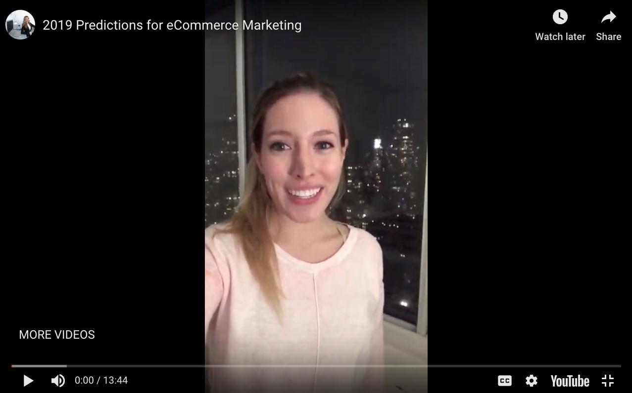 2019 eCommerce Marketing Predictions