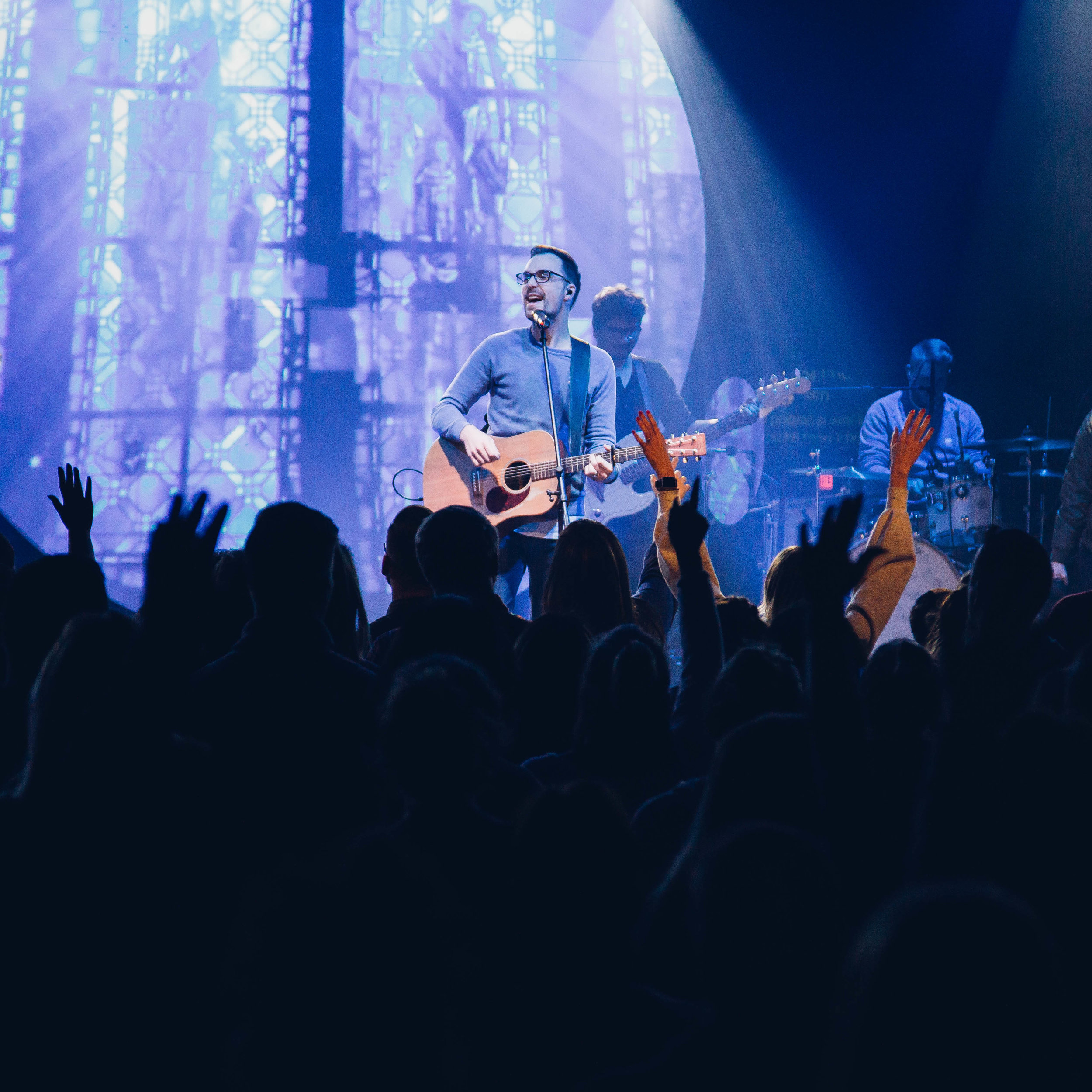 Take the summer off! - There will be no First Wednesday in June or July. Enjoy your summer house parties with friends and family. We'll see you at our Night of Worship, which will take place the first Wednesday in August!