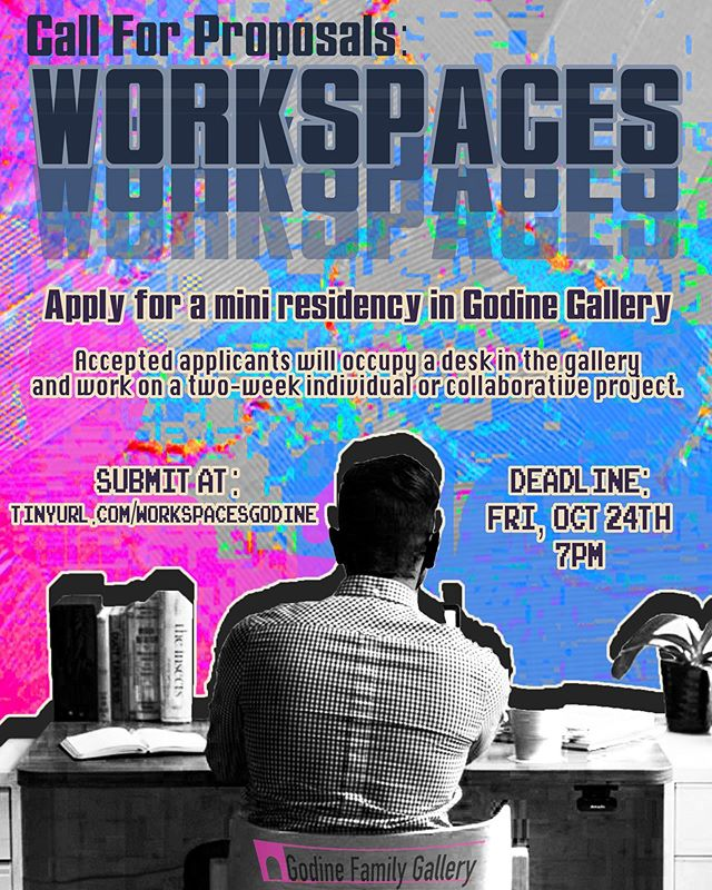 Hey MassArt folk (any major)! *Loose* proposals wanted! tinyurl.com/workspacesgodine 🤓