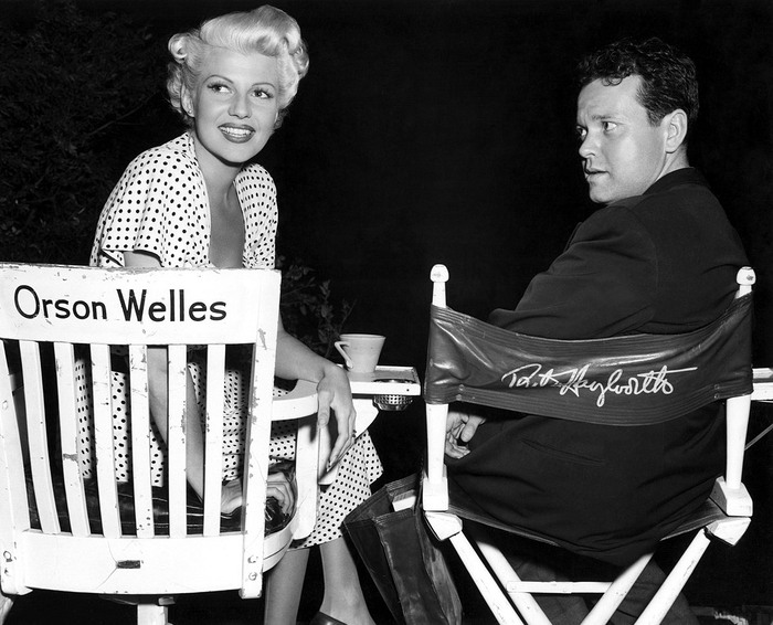 Hayworth and her second husband, Orson Welles [Source: Columbia Pictures]