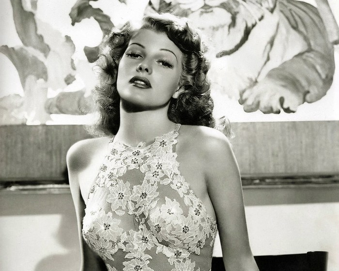 Rita Hayworth photographed for 'You Were Never Lovelier' (1942) [Source: Columbia Pictures]