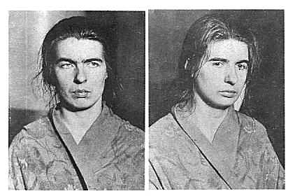 Christine (left) and Léa (right) after their arrest