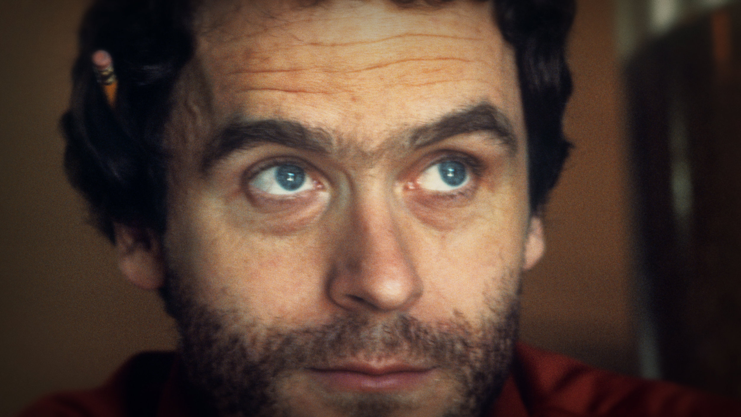Still of Ted Bundy, from  Conversations with a Killer: The Ted Bundy Tapes  (2019)   [Netflix]