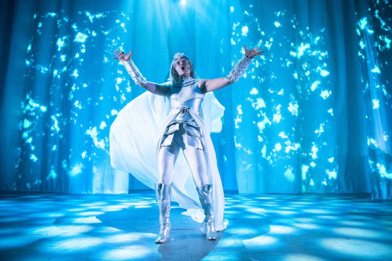 THE SNOW QUEEN, Dundee Rep Theatre (2018) Photographer: Tommy Ga-Ken Wan