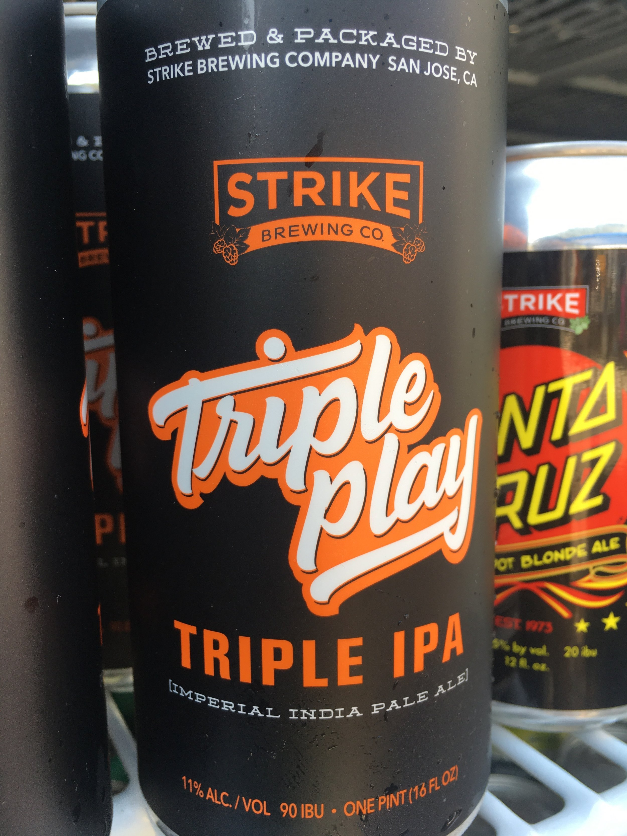 Strike Brewing - Triple Play Triple IPA