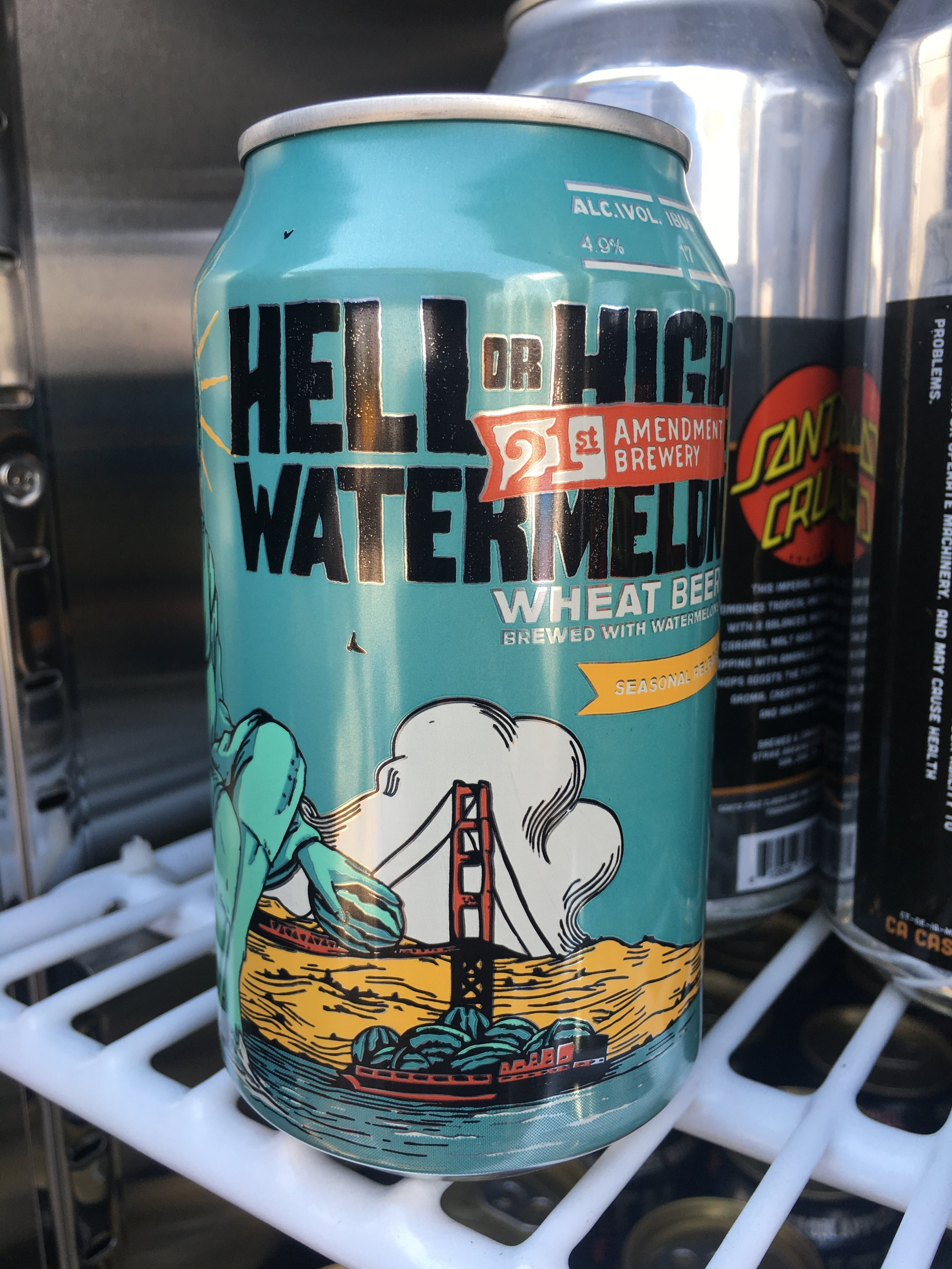 21st Amendment Brewery - Hell or High Watermelon