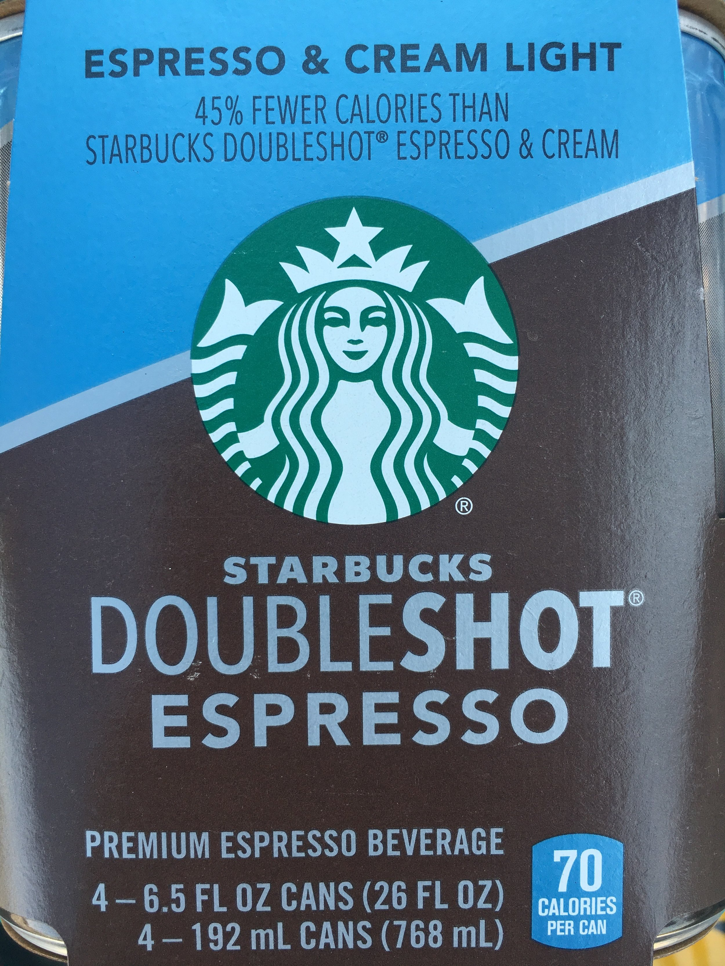 Starbucks - Doubleshot (Espresso & Cream Light)