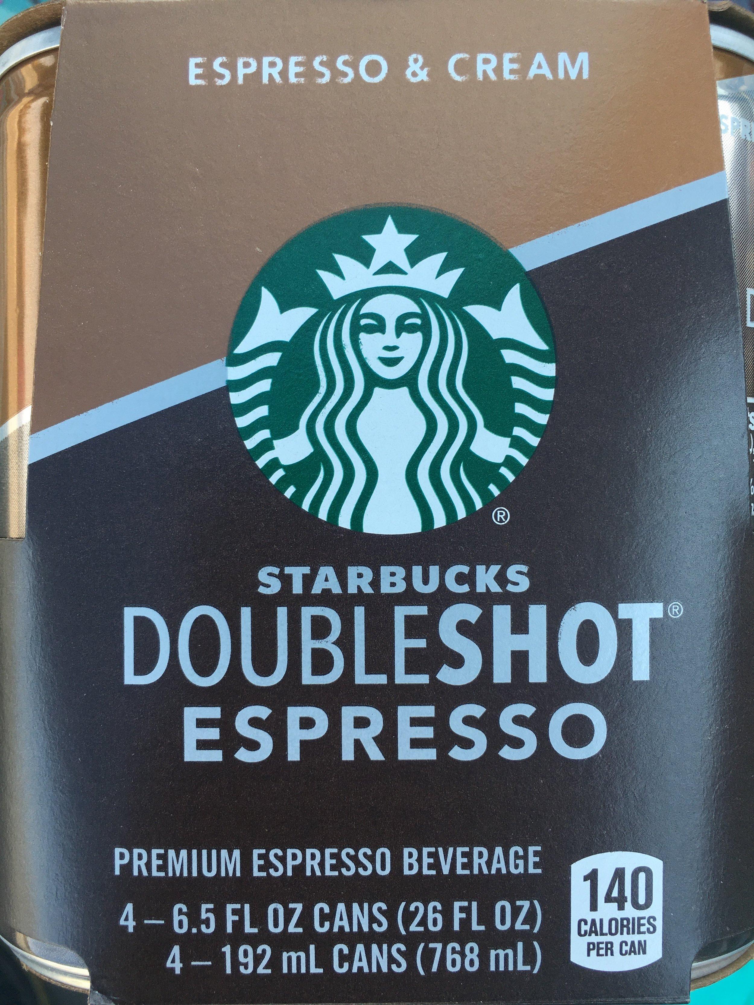 Starbucks - Doubleshot - Espresso & Cream