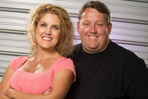 """""""The Bargain Hunters,"""" Rene & Casey are fan favorites of A&E's hit show, """"Storage Wars,"""" & own a successful thrift shop in southern California."""