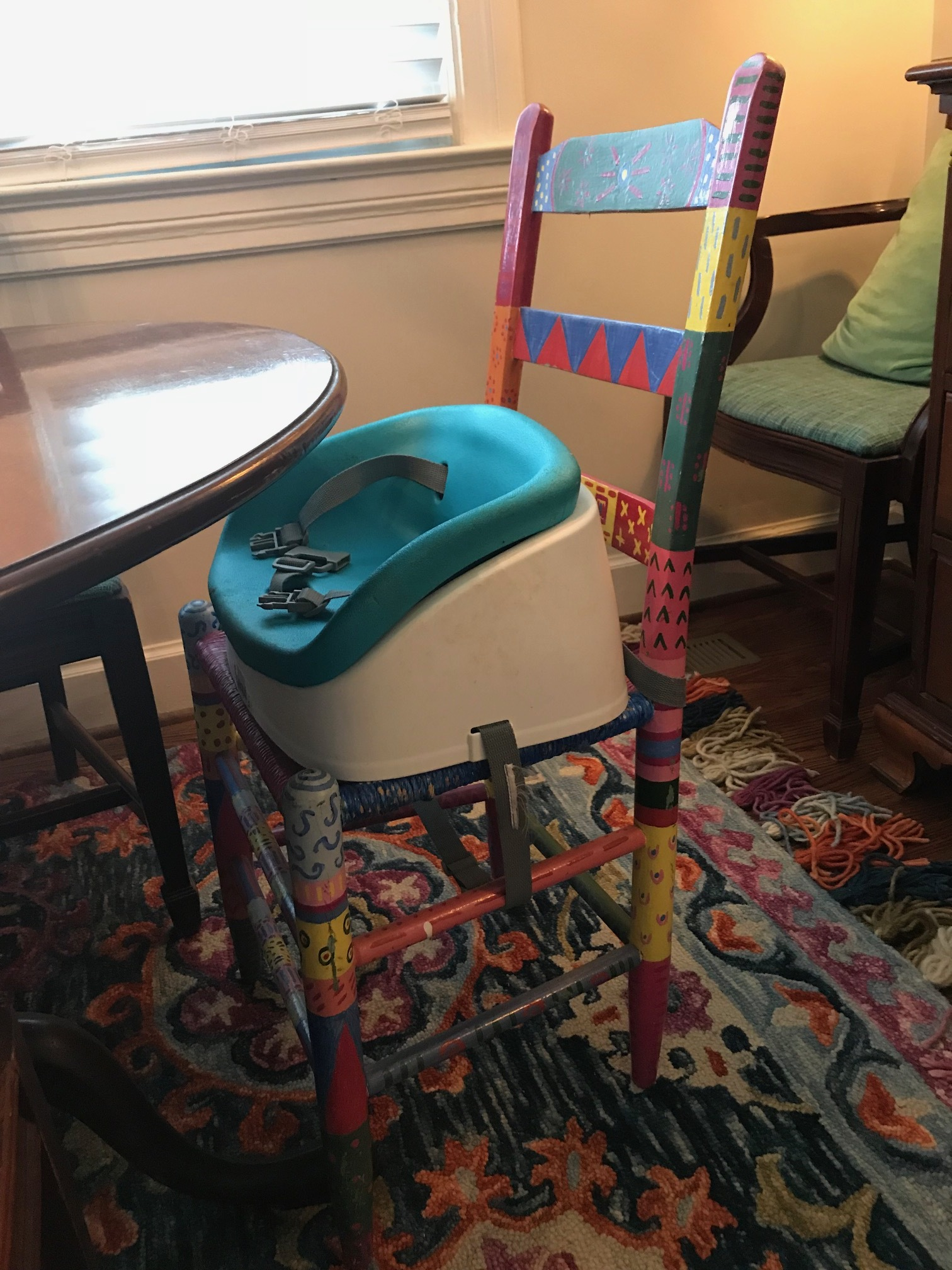 Chair with Flair... - almost 30 years later and i still remember painting this with my mom