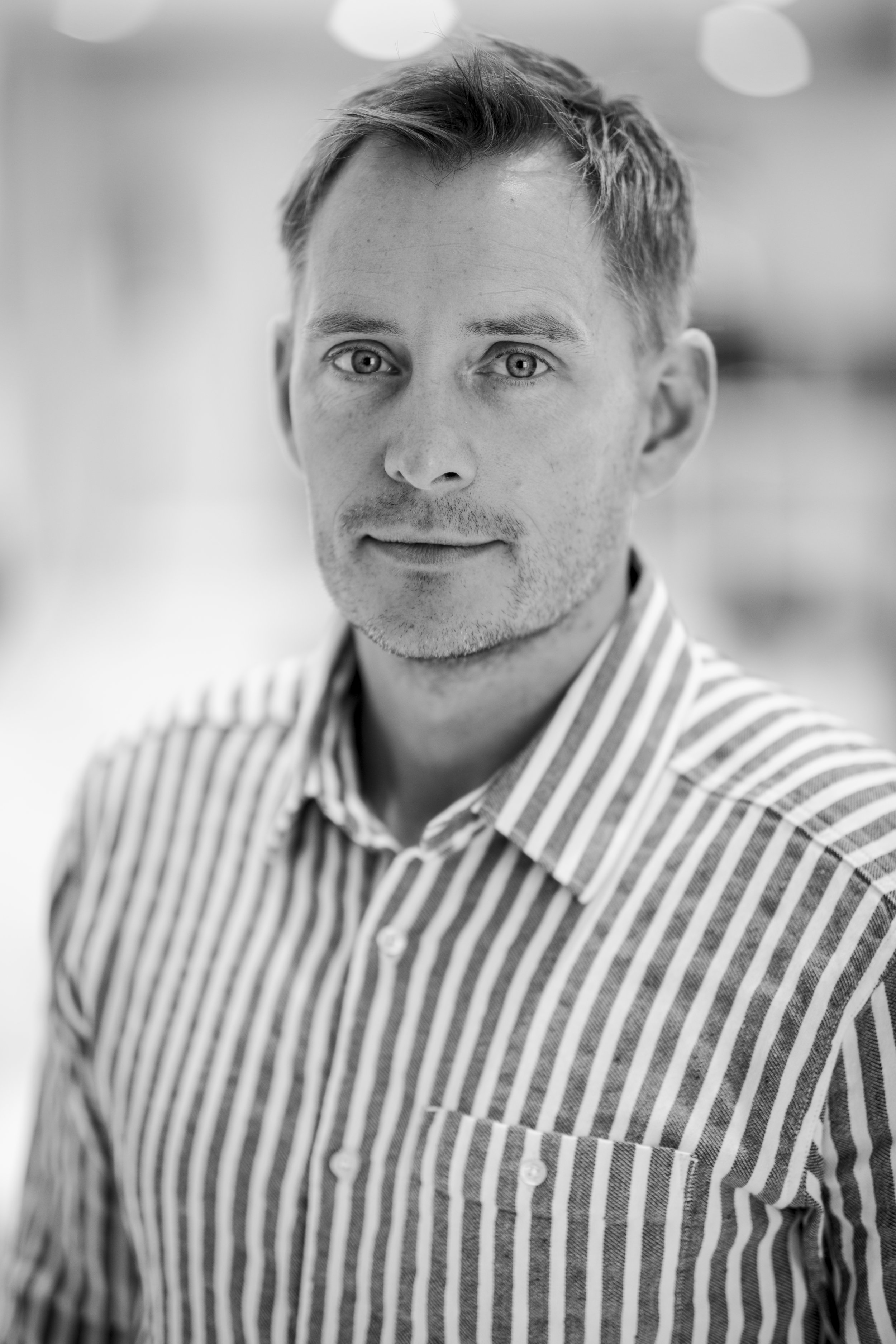 Mads Mørup, the founder and CEO of Danish menswear company  KnowledgeCotton Apparel . Photo: KnowledgeCottonApparel