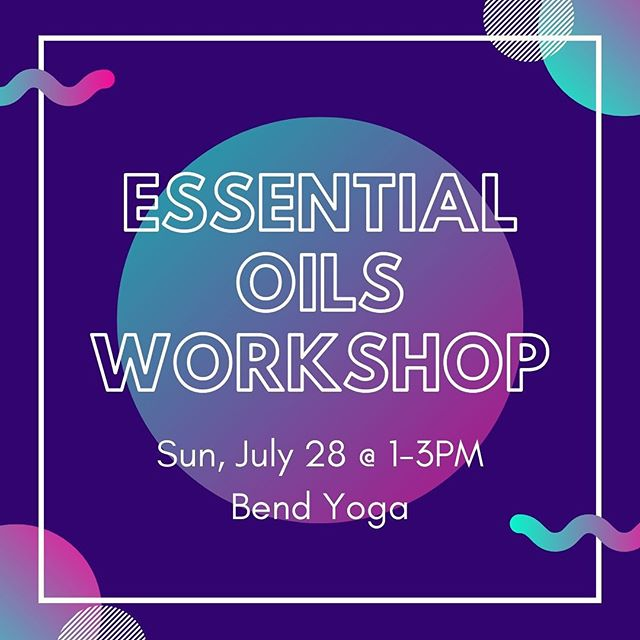 Join me on Sunday, July 28 for my next essential oils workshop! 🌿 Learn about the benefits of essential oils and get some simple tips on how to use them.  Everyone will get to make two custom blends to take home! 🙌🏻 🌿 Link in bio...space is limited so sign up soon!