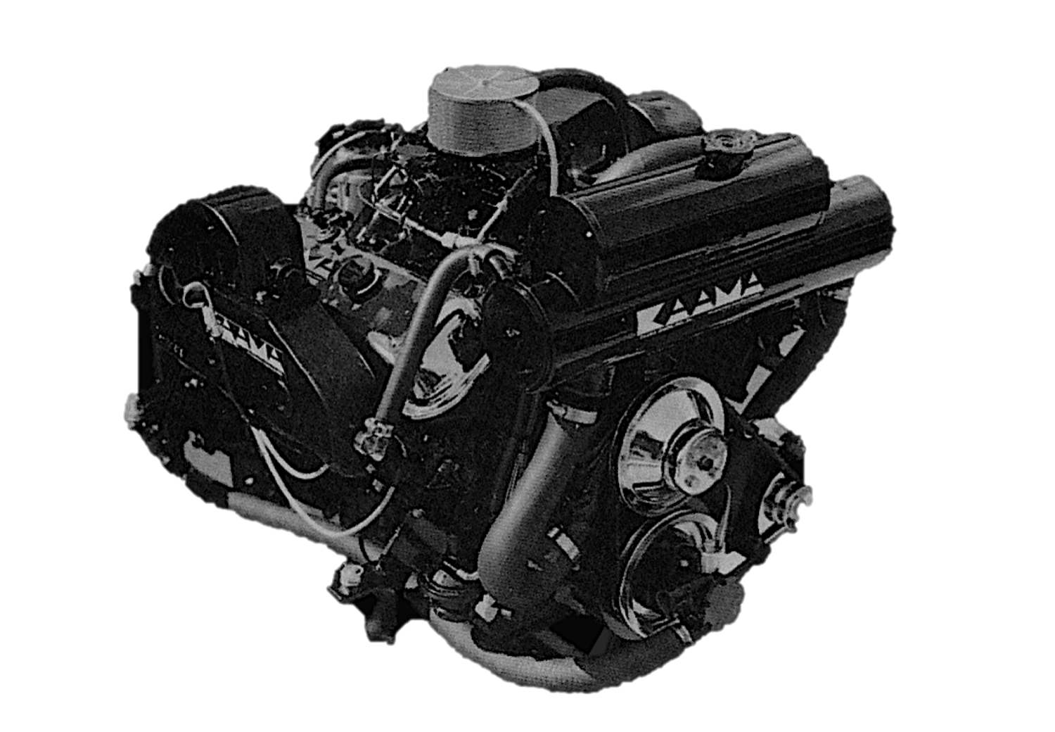 """KAAMA Power Systems """"competition type"""" engine"""