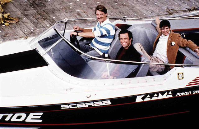 """The popular TV Series """"Riptide"""" featured a Scarab powered by KAAMA Power Systems"""