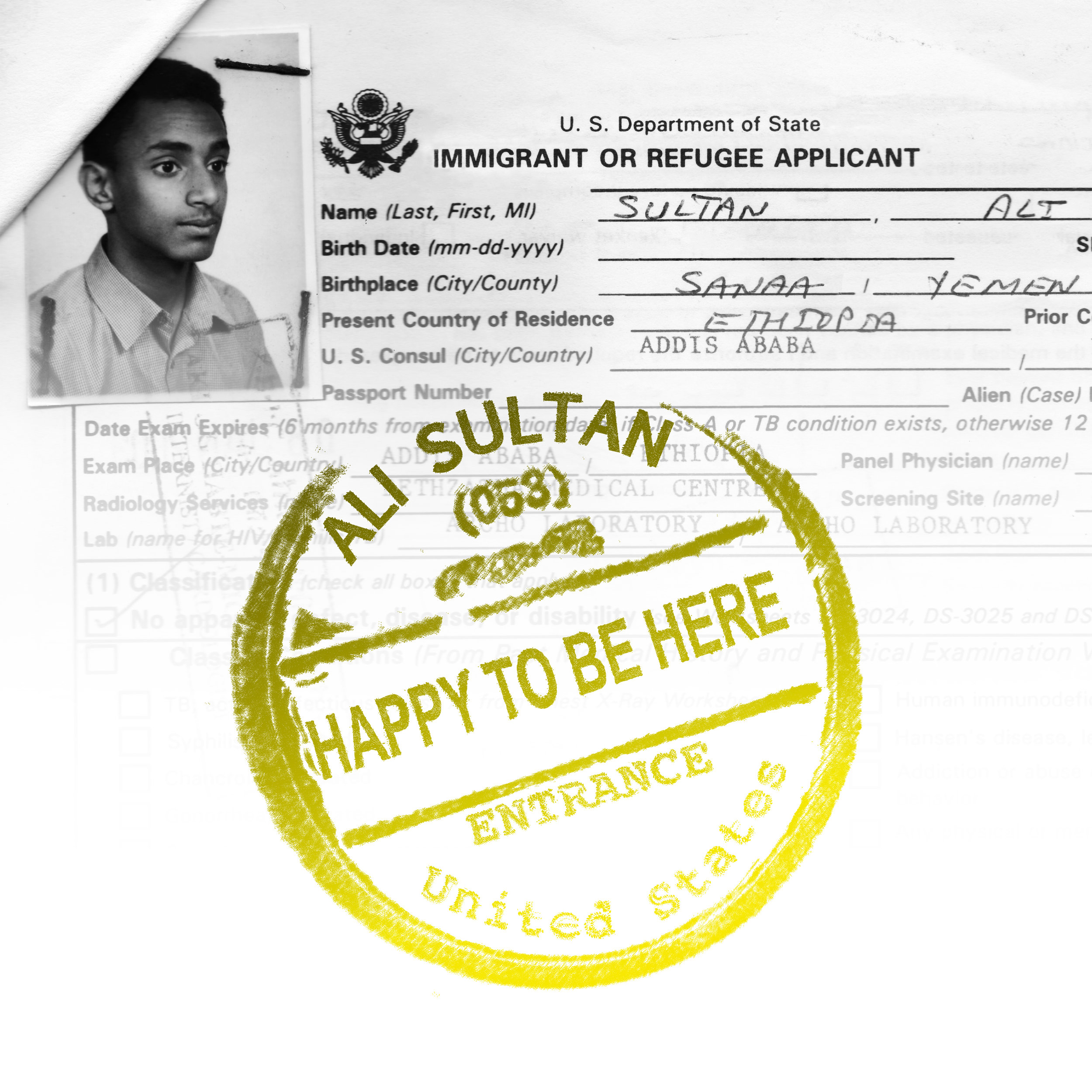 Ali Sultan - Happy To Be Here (2019) [Digital Art].jpg