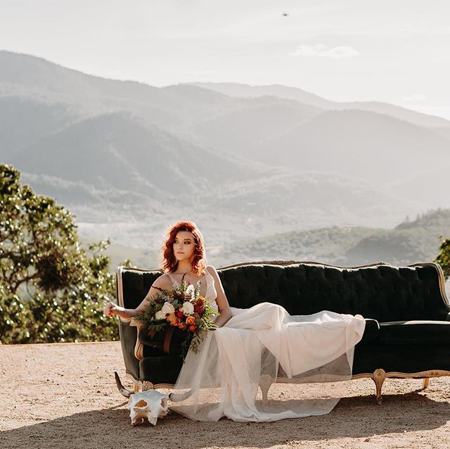 Check out these stunning elopement photos taken by @jcobbphotography at Haven Hill. Loving the moody colors! And how gorgeous are these models?! . Photographer: @jcobbphotography  Makeup: @bbcartistry Earrings: @birkely_co.17_  Tux: Tuxedo Junction Medford Oregon Flowers: B. Cazwells Floral Dezines Venue: @havenhillweddings  Models: Jamielee Hollis and Jacob Myers Vow Cards and Custom Glasses: @honeytreecrafters