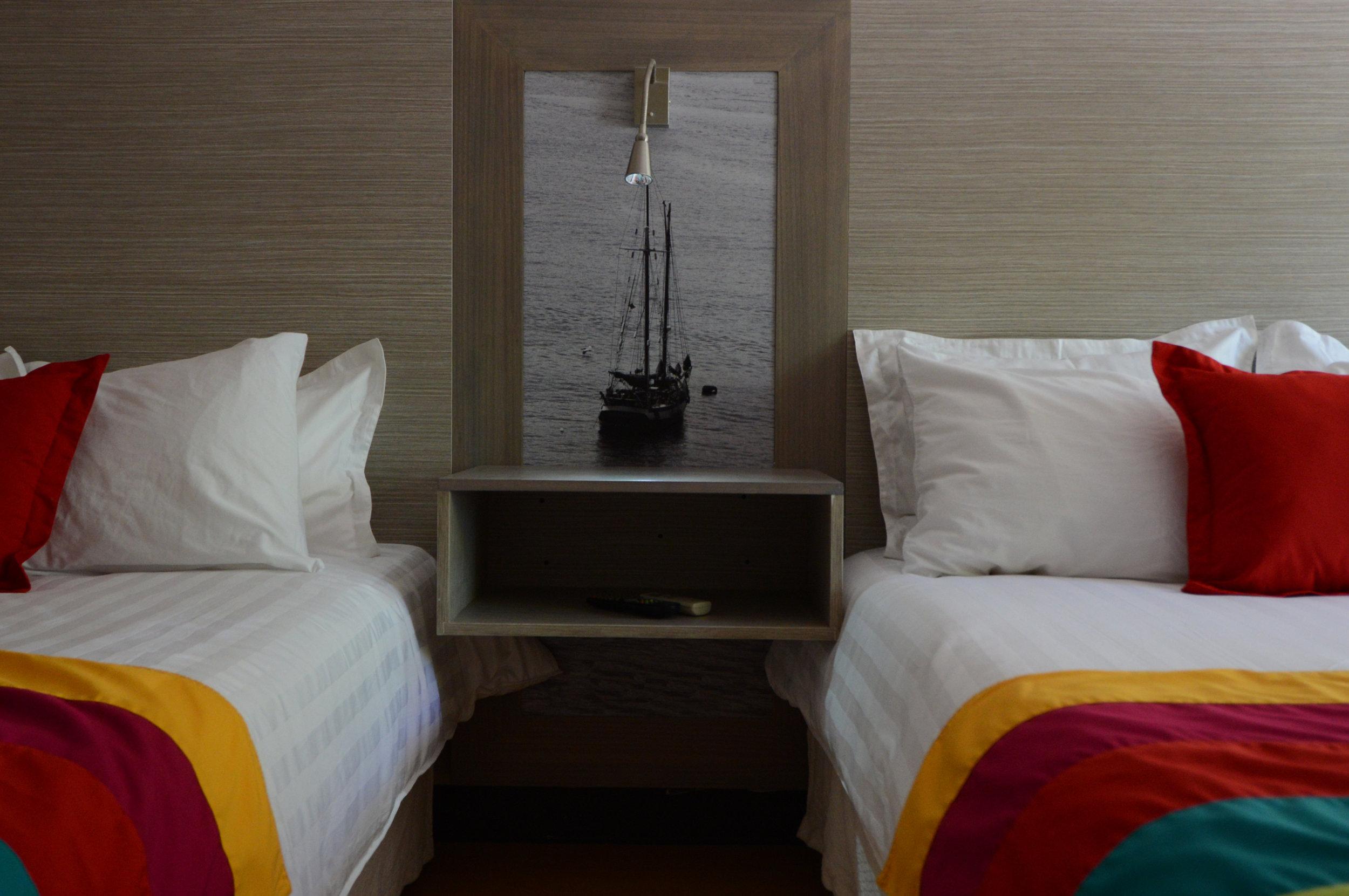 In Diseño Centroamérica ,  remodelación Hotel Puerto Azul- Puntarenas .