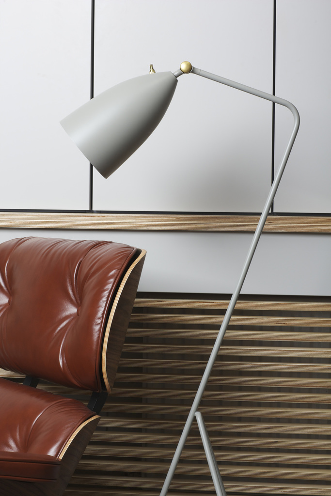 Shop the Grasshopper Lamp in Steel Grey  HERE.