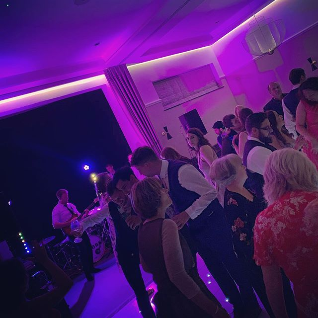 We had a great night with Chris and Cheryl on Friday at @denhamgrovehotel!