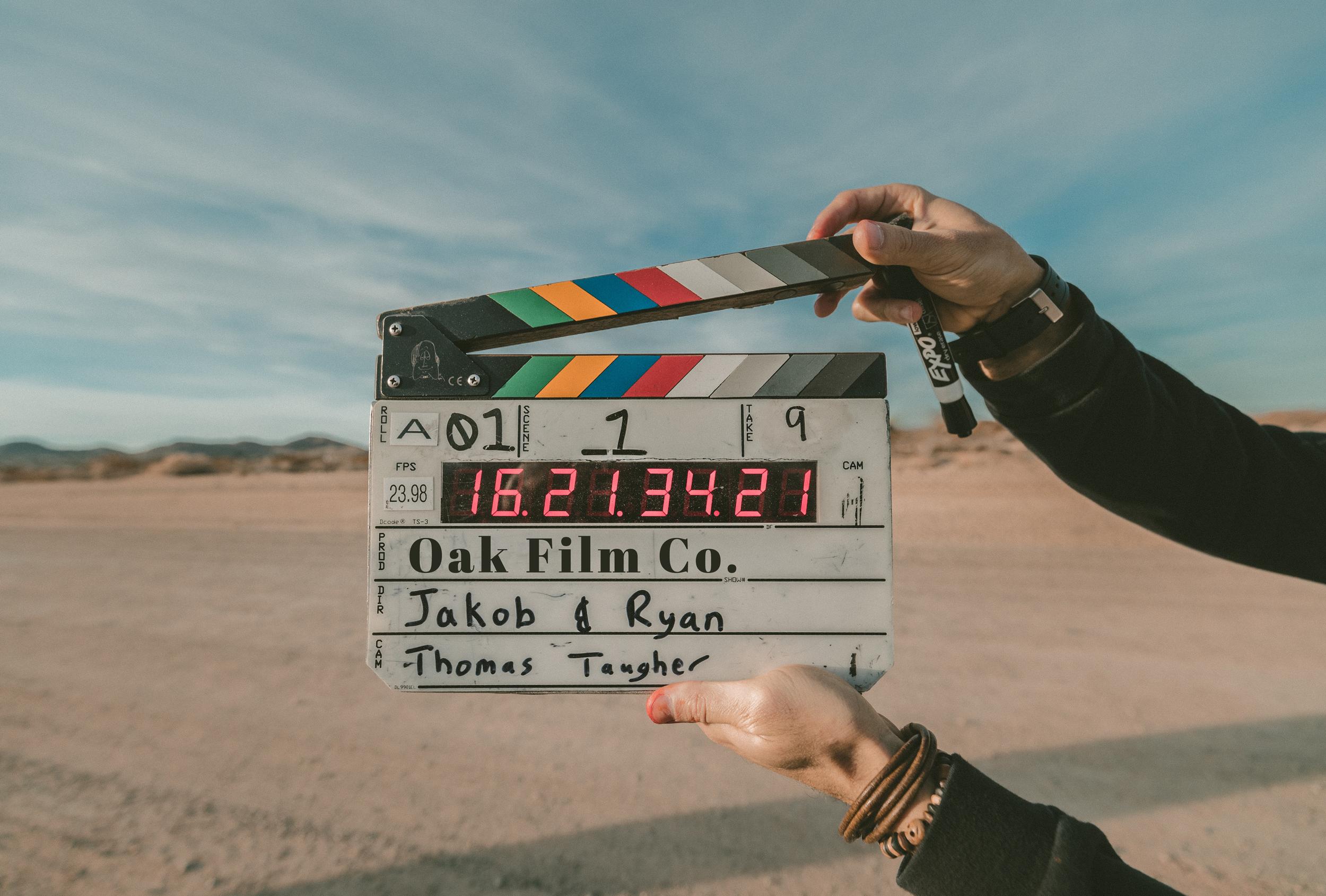 video production slate