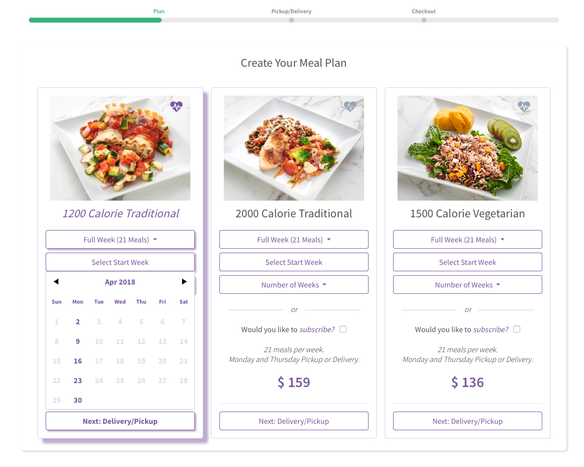 How to choose your meal plan | Healthy For Life Meals
