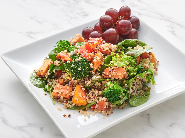Quinoa Vegetable Salad with Citrus Dressing