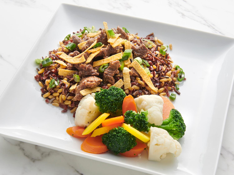 Warm Korean Grain Salad