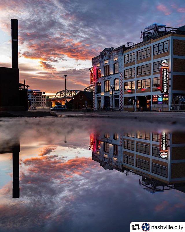 Just reflecting on the week... #nashvilleunderground  #repost @nashville.city ・・・ Photo by: @claytoncorners