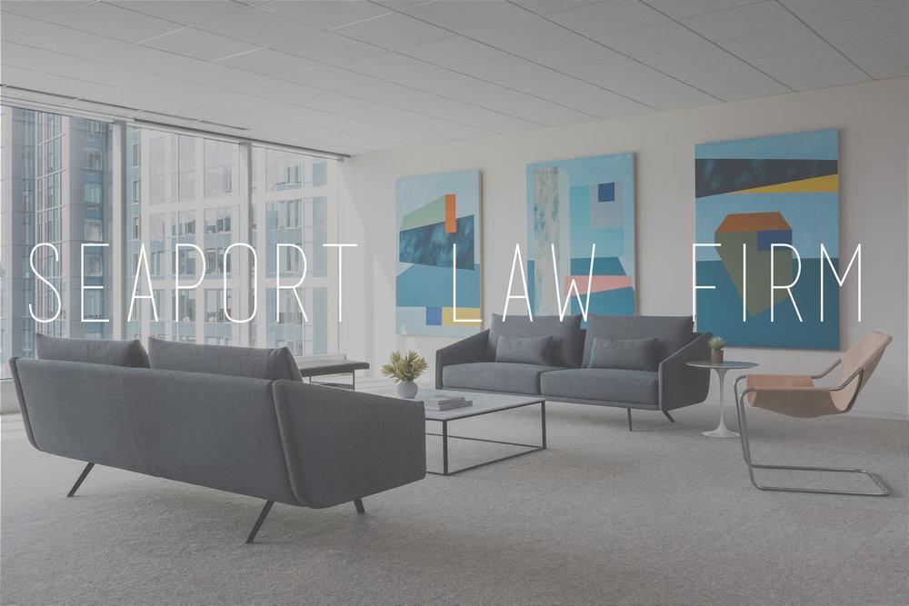 Seaport Law Firm Henley Design Interior Studio