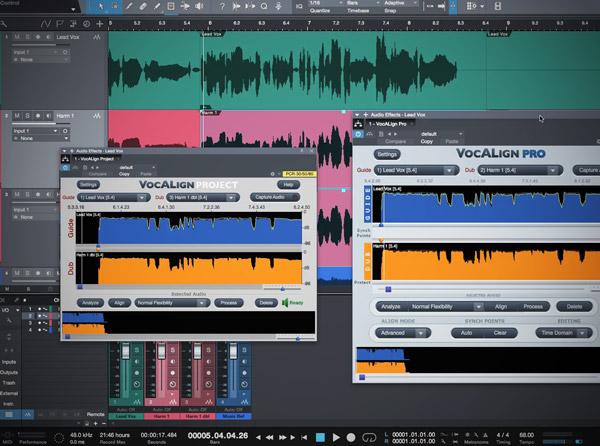 Vocalign ARA - Studio One