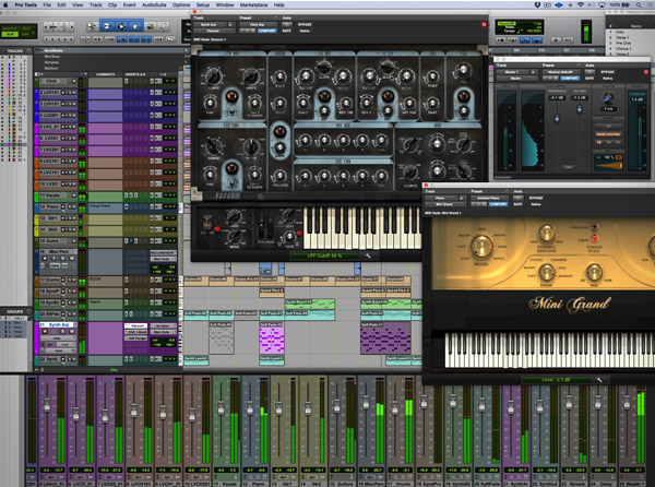 1st Song In Pro Tools 2018